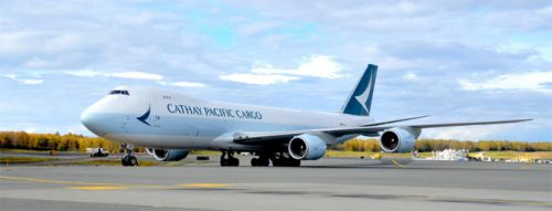 20161018cathayp 500x191 - キャセイパシフィック/香港とオーストラリア・ブリスベンに貨物専用便を就航