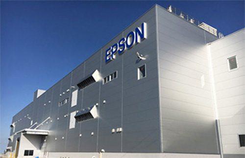 秋田エプソンの新工場