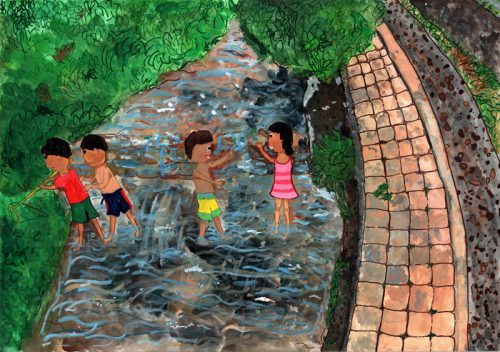 20161118sghd1 500x352 - SGHD/小学生が地球環境を描くエコ絵画コンクール入賞作品発表