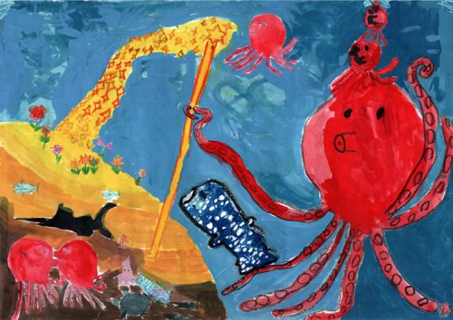 20161118sghd2 500x354 - SGHD/小学生が地球環境を描くエコ絵画コンクール入賞作品発表