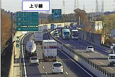 20161124nexconaka3 - 東名阪道/渋滞緩和対策に着手、3車線(暫定)運用区間を延伸