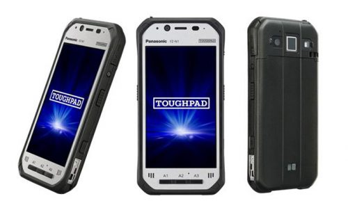 4.7型頑丈ハンドヘルド TOUGHPAD FZ-N1指紋認証センサー搭載モデル
