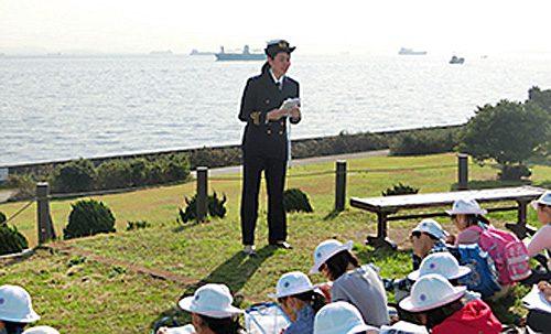 航海士によるレクチャー