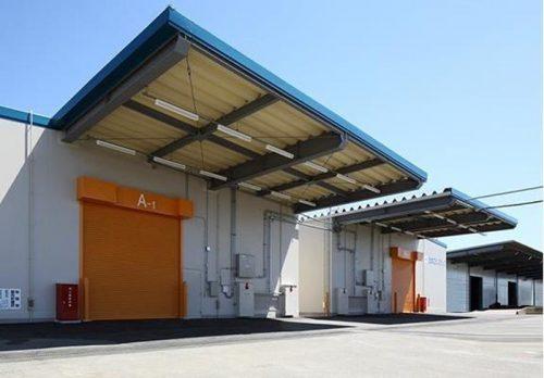 開設済みの倉庫