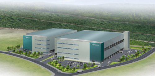 20161129prologis1 500x244 - プロロジス/神戸市西区に特定企業専用型の物流施設開発