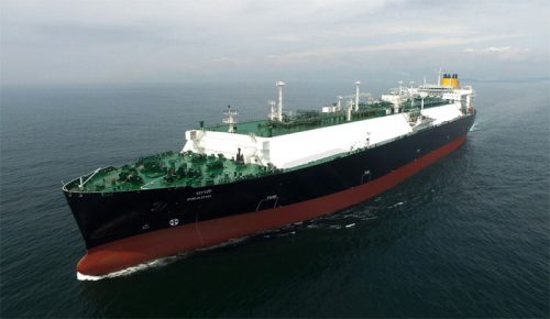 20161202kaiunsansya 500x290 - 川崎汽船、日本郵船、商船三井/インドPetronet LNG社向け新造LNG船竣工