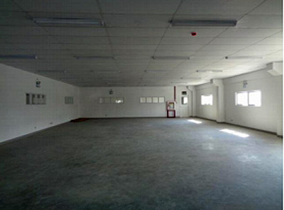 事務所として利用できる2階も完備
