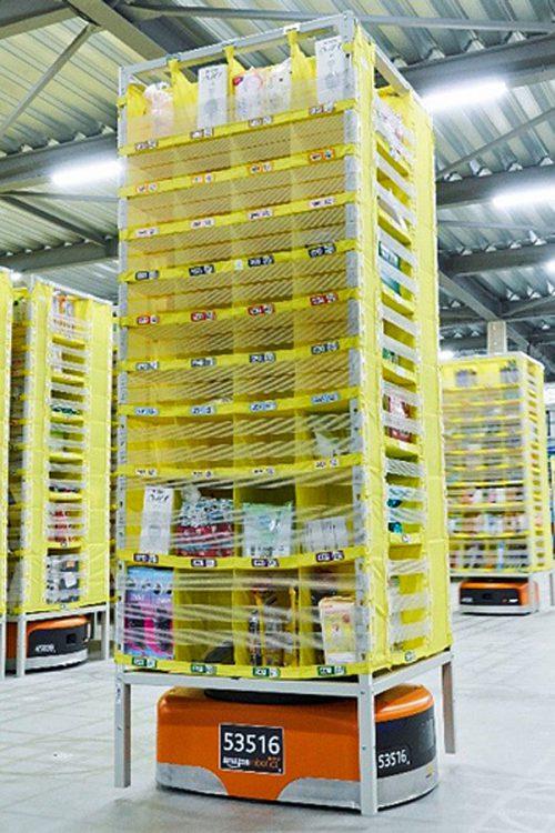20161206amazon 500x750 - アマゾン/川崎の新物流拠点でアマゾン ロボティクスを公開
