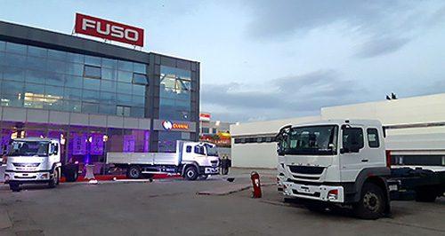 20161208fuso 500x266 - 三菱ふそう/アルジェリアでFUSO新型車両を販売