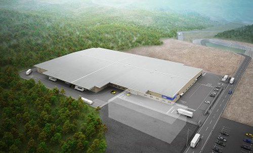 20161208nittsus 500x303 - 日通商事/1.6万m2の多目的物流拠点、埼玉県寄居町に竣工