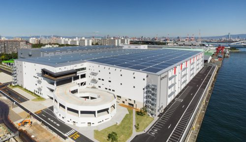 20161213esr1 500x289 - ESR/最高レベルの大型物流施設、大阪・南港に竣工