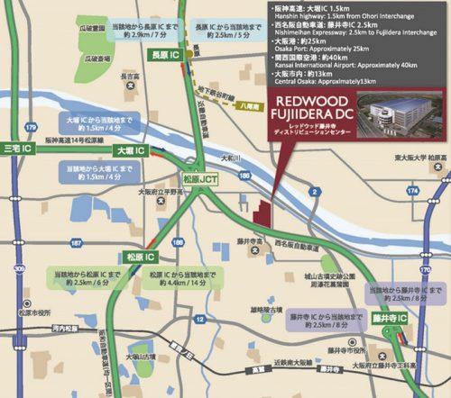 20161213esr22 500x442 - ESR/大阪・藤井寺に17.7万m2の物流施設3月31日竣工、2月8・9日内覧会