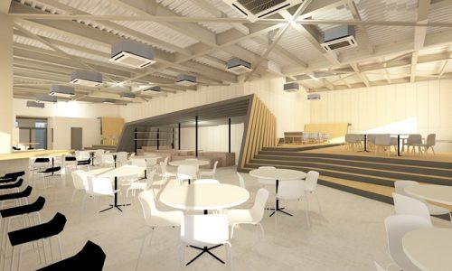 5F KLUBB Lounge 完成イメージパース