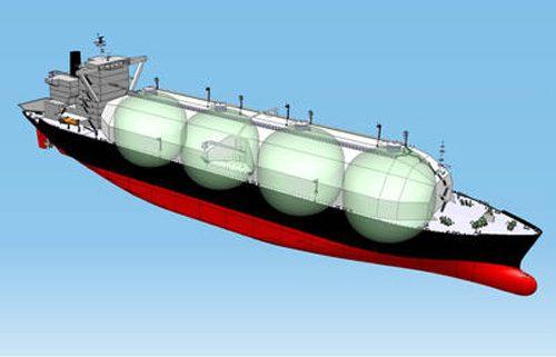 新造LNG船 サヤリンゴSTaGE