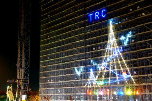 20161226trc1 500x334 - 東京流通センター/12月28日まで建設中の物流施設にイルミネーション