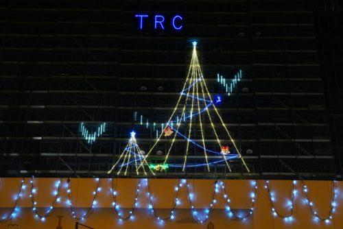 20161226trc2 500x334 - 東京流通センター/12月28日まで建設中の物流施設にイルミネーション
