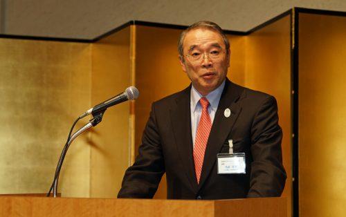 遠藤信博会長