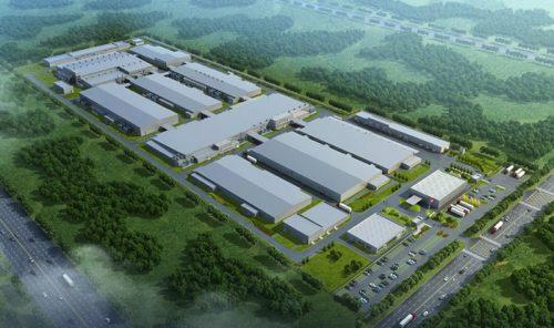 新設工場のイメージ