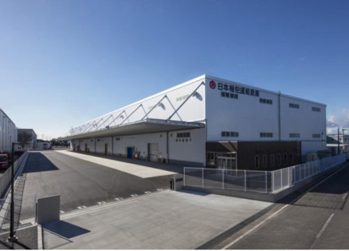 20170119nikkon1 500x360 - 日本梱包運輸倉庫/群馬県太田市で延床1.1万m2の倉庫竣工