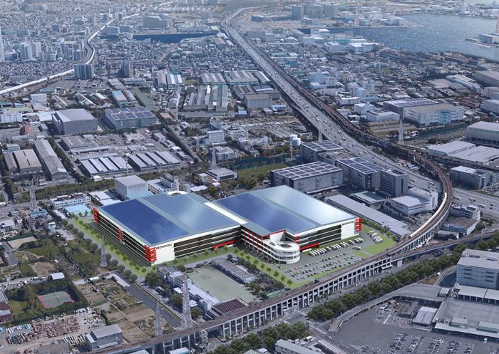 ESR/千葉県市川市に23万m2の物流施設開発、投資額800億円 ─ 物流 ...