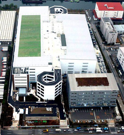 20170123nittsu1 500x546 - 日通/東京都江東区新砂に15万m2のマルチテナント型物流施設竣工
