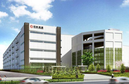 20170123nittsu2 500x326 - 日通/東京都江東区新砂に15万m2のマルチテナント型物流施設竣工