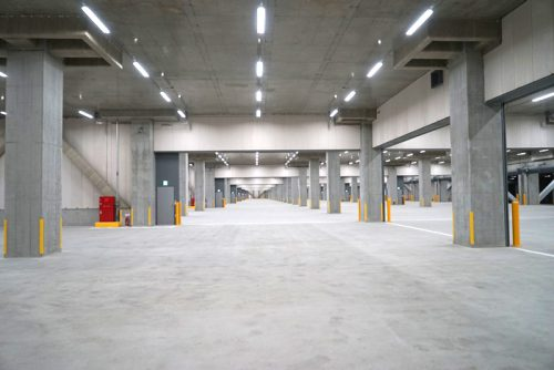 20170123nittsu51 500x334 - 日通/東京都江東区新砂に15万m2のマルチテナント型物流施設竣工