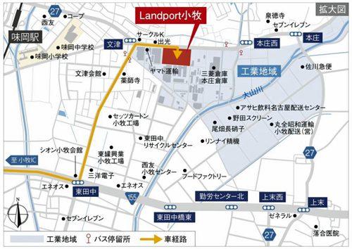 20170131nomura7 500x354 - 野村不動産、戸田建設/愛知県小牧市に大規模高機能型物流施設竣工