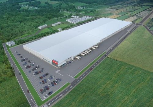 20170208monotaro1 500x351 - MonotaRO/茨城県笠間市に5.6万m2の物流施設竣工