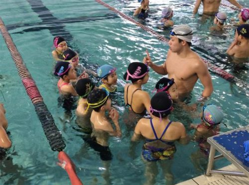 20170213yusenlogi1 500x371 - 郵船ロジスティクス/子どもを対象に水泳教室開催