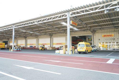 DHLの中部国際空港ゲートウェイ