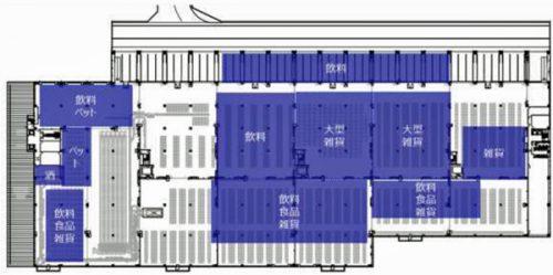 3階平面図(在庫配置)