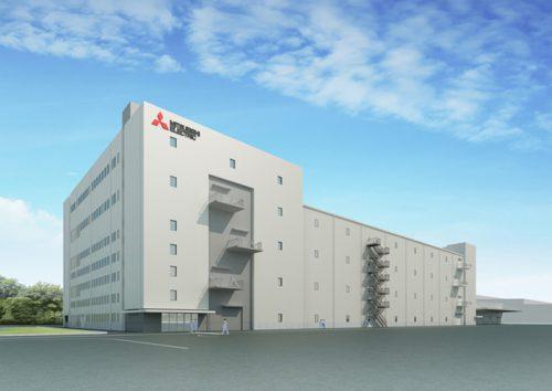 姫路製作所広畑工場新棟 完成予想図