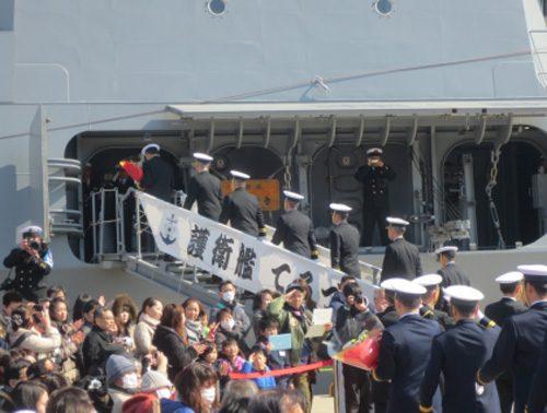 20170313sensyu1 500x378 - 海賊対処の第27次派遣部隊/ソマリア・アデン湾に向け出港