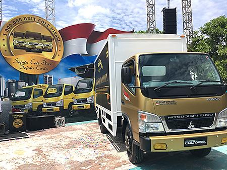20170316fuso - 三菱ふそう/インドネシアで「キャンター」販売台数100万台
