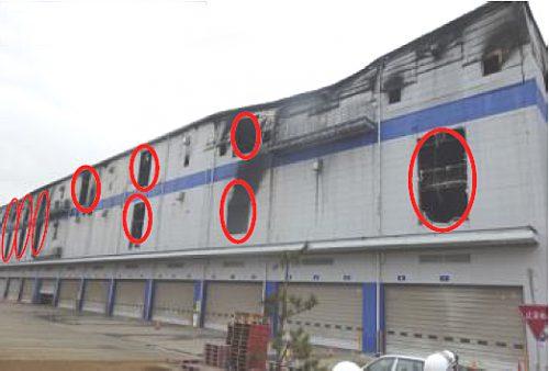 20170321asukul9 500x338 - アスクル/火災の倉庫1階部分、ほぼ焼損なし