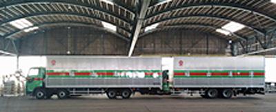 20170321fukuyama1 - 福山通運/ダブル連結トラック実証実験を開始