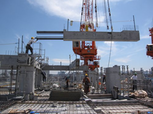 20170329mitsuisumitomo2 500x375 - 三井住友建設/物流施設向けにスクライム-PC工法開発