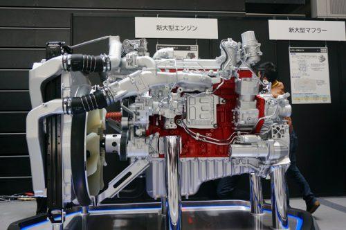 20170405hino23 500x332 - 日野自動車/埼玉アリーナで新型日野プロフィアと新型日野レンジャー発表