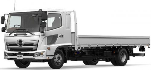 20170405hino3 500x234 - 日野自動車/大型・中型トラック、モデルチェンジ