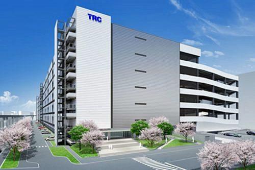 20170406trc1 500x333 - TRC/6月末竣工予定の物流ビル新B棟で内覧会と免震装置体験会