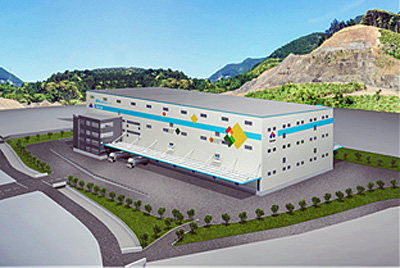 20170410suzuyo - 鈴与、鈴与建設/2万m2の省エネ型物流センター、7月竣工