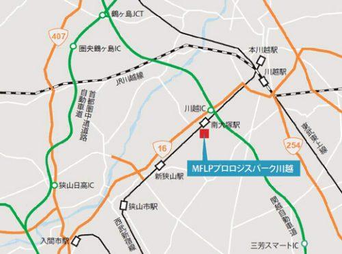 20170412mitsu2 500x371 - 三井不動産、プロロジス/川越市に物流施設、共同開発