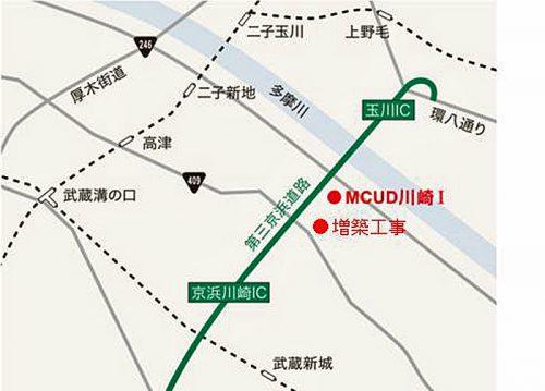 20170413mitsubishis2 500x359 - 三菱商事都市開発/川崎市高津区に物流施設を着工