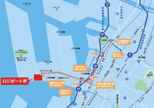 20170417logiportsakai5 500x352 - ラサール不動産/大阪・堺市に11.6万m2の物流施設竣工、契約率30%
