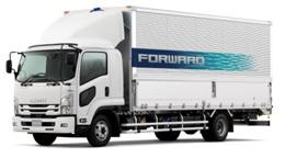 20170427isuzu2 - いすゞ/大型トラック「ギガ」、中型トラック「フォワード」改良