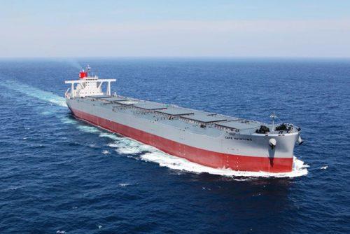20170512kawasakik 500x334 - 川崎汽船/25万重量トン型鉱石船を竣工