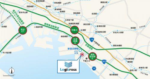 20170515mitsubishig3 500x265 - 三菱地所/習志野に3.9万m2の物流施設着工、新習志野駅から5分