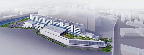総合トレーニングセンター(仮称)イメージ