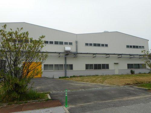 中空糸膜モジュールの新工場(千葉工場内)